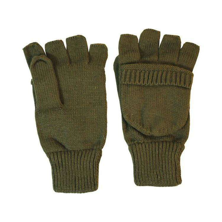 Kombat UK, Shooters Mitts - Olive Green, Gloves, Wylies Outdoor World,