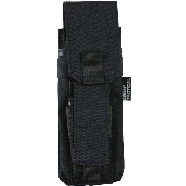 Kombat UK, Single Mag Pouch with PISTOL Mag - Black, Pouches, Wylies Outdoor World,