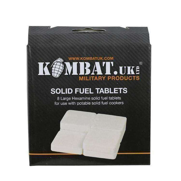 Kombat UK, Solid Fuel Tablets, Fire Starters, Wylies Outdoor World,