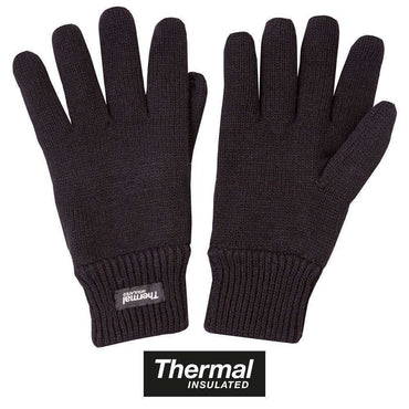 Kombat UK, Thermal Gloves - Black, Gloves, Wylies Outdoor World,