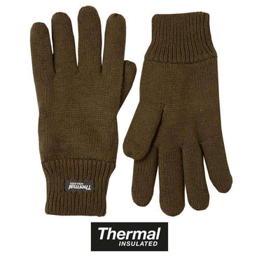 Kombat UK, Thermal Gloves - Olive Green, Gloves, Wylies Outdoor World,