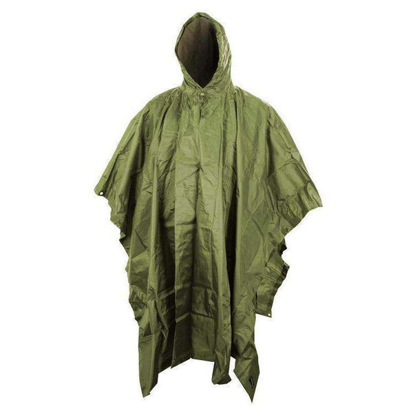 Kombat UK, US Style Poncho, Survival Blankets & Ponchos,Wylies Outdoor World,