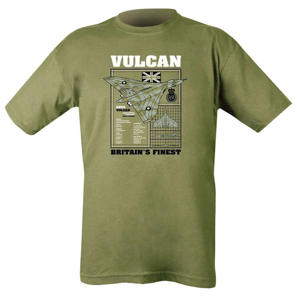 Kombat UK, Vulcan T-shirt - Olive Green, T-Shirts, Shirts & Vests, Wylies Outdoor World,