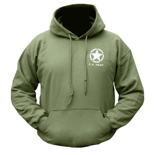 Kombat UK, Willys Jeep Hoodie (New Design), Fleeces, Jumpers & Hoddies,Wylies Outdoor World,