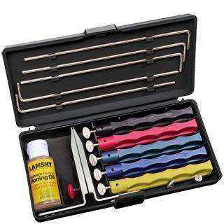 Lansky, Lansky - Deluxe Sharpening System, Sharpening Kits, Wylies Outdoor World,