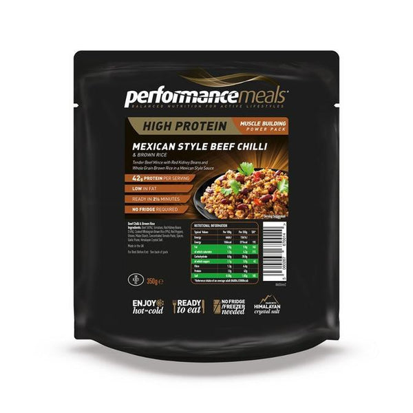 Performance Meals, Performance Meals - Mexican Beef, Wet Meals, Wylies Outdoor World,