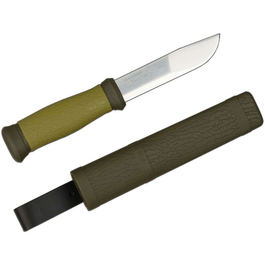 Mora Knives, Mora Outdoor 2000 Knife, Fixed Blade Bushcraft Knives,Wylies Outdoor World,