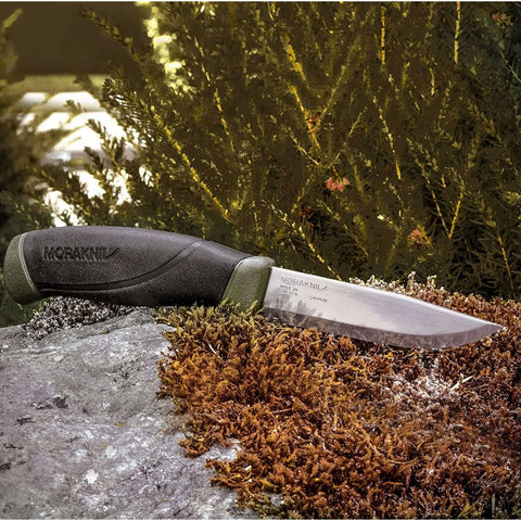Mora Knives, Morakiniv Companion MG - Carbon Steel, Fixed Blade Bushcraft Knives, Wylies Outdoor World,