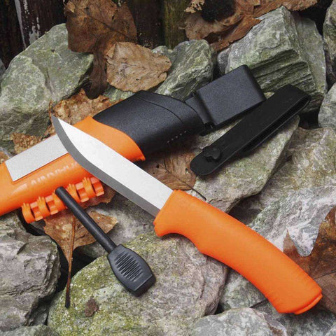 Mora Knives, Morakniv Bushcraft Survival Knife, Fixed Blade Survival Knives, Wylies Outdoor World,