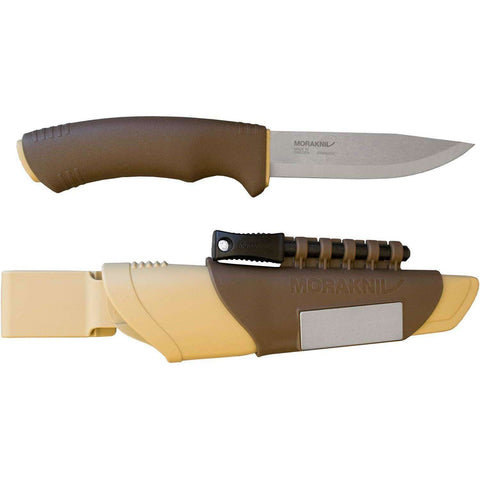 Mora Knives, Morakniv Bushcraft Survival Knife, Fixed Blade Survival Knives,Wylies Outdoor World,