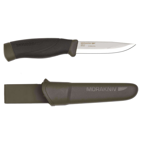 Mora Knives, Morakniv Companion 860 - Carbon Steel, Fixed Blade Bushcraft Knives,Wylies Outdoor World,