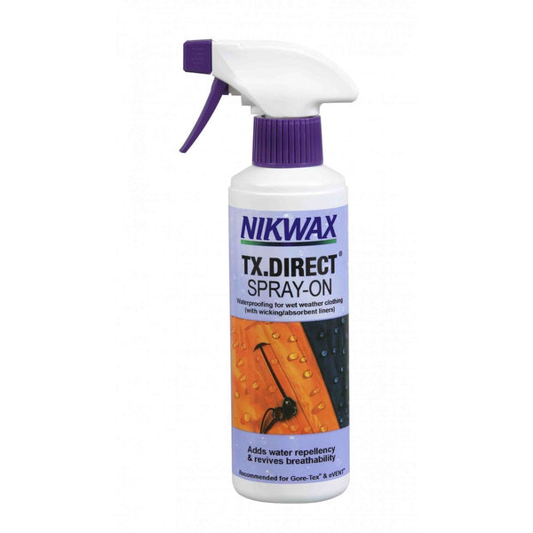 Nikwax, Nikwax Spray On TX Direct - 300ml, Waterproofing, Wylies Outdoor World,