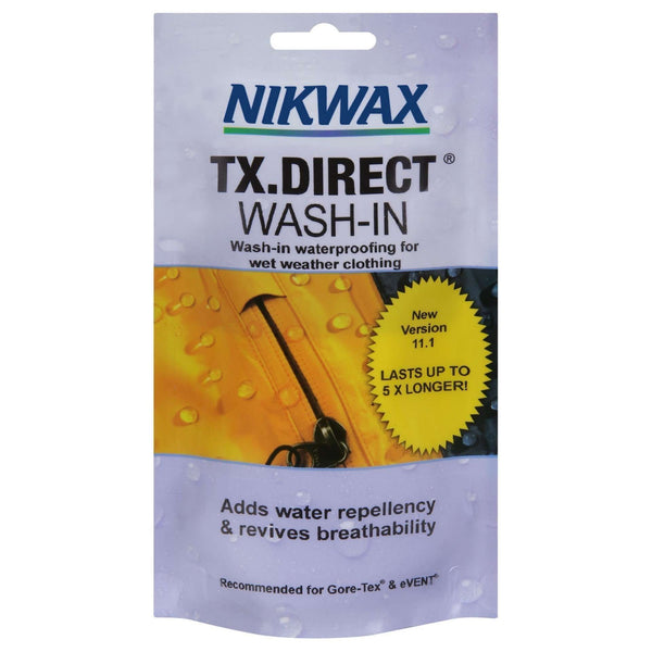 Nikwax, Nikwax TX Direct - Single Use Pouches, Waterproofing, Wylies Outdoor World,