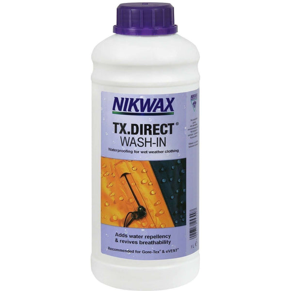 Nikwax, Nikwax Wash In TX Direct - 1 Litre, Waterproofing, Wylies Outdoor World,