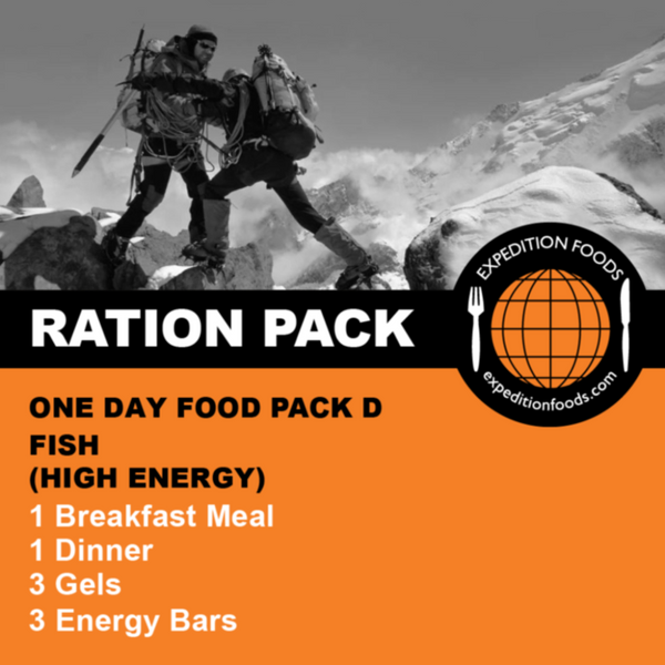 Expedition Foods, Expedition Foods - One Day Pack D / Multi-Day Stage Race, Day Ration Packs,Wylies Outdoor World,