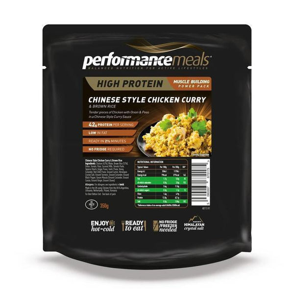 Performance Meals, Performance Meals - Chinese Chicken Curry, Wet Meals, Wylies Outdoor World,