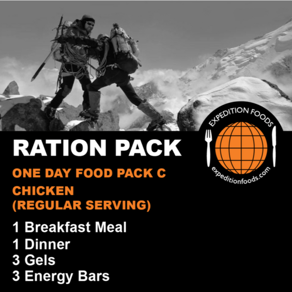 Expedition Foods, Expedition Foods - One Day Pack C / Multi-Day Stage Race, Day Ration Packs,Wylies Outdoor World,