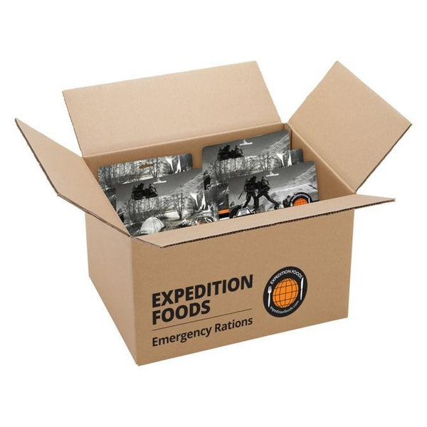 Expedition Foods, Expedition Foods - Emergency Rations for 1 Month, 1 Month+ Ration Packs, Wylies Outdoor World,