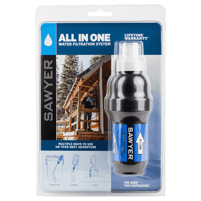 Sawyer, Sawyer All in One Water Filter, Water Filters, Wylies Outdoor World,