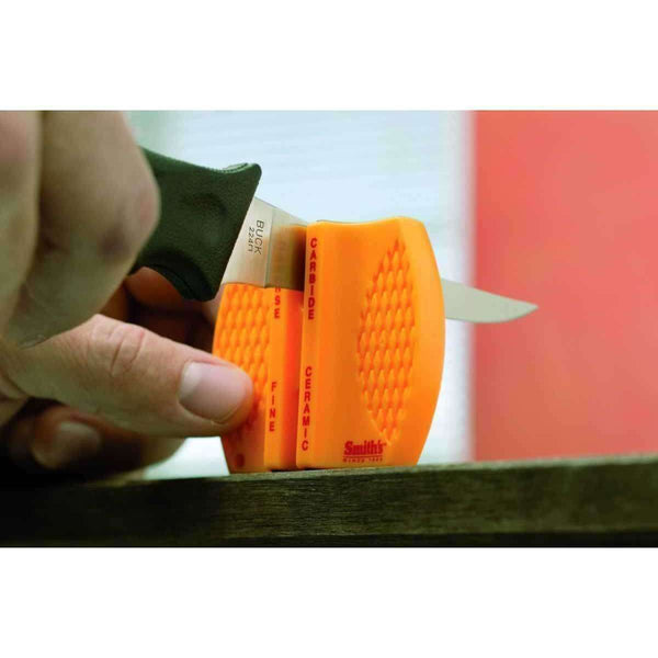 Smith's, Smith's 2 Step Knife Sharpener, Field Sharpeners, Wylies Outdoor World,