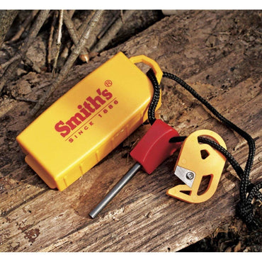 Smith's, Smith's Pack Pal Tinder Maker With Fire Starter, Ferro Rods, Wylies Outdoor World,