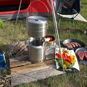 Solo Stove, Solo Stove Campfire, Wood Burning Stoves, Wylies Outdoor World,