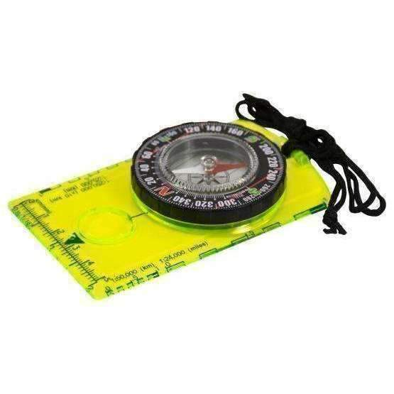 U.S.T U.S.T. Hi Vis Deluxe Map Compass Compasses  Wylies Outdoor World wylies-outdoor-world.myshopify.com