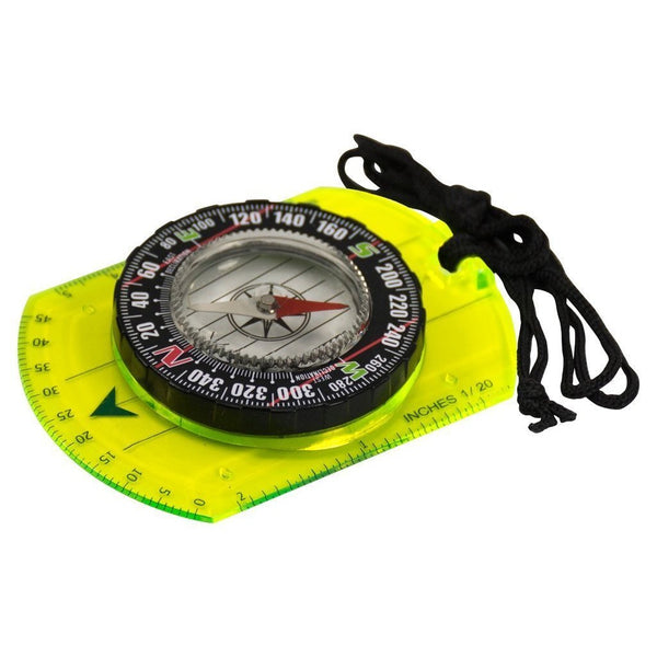 U.S.T, U.S.T. HI-VIS Way Point Map Compass, Compasses, Wylies Outdoor World,