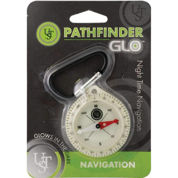 U.S.T U.S.T. Pathfinder GLO Compass Compasses  Wylies Outdoor World wylies-outdoor-world.myshopify.com