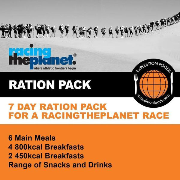 Expedition Foods, Expedition Foods - RacingThePlanet Ultramarathon 250km Nutrition Pack, Day Ration Packs, Wylies Outdoor World,