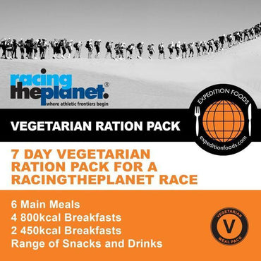 Expedition Foods, Expedition Foods - RacingThePlanet Ultramarathon 250km Vegetarian Nutrition Pack, Day Ration Packs, Wylies Outdoor World,