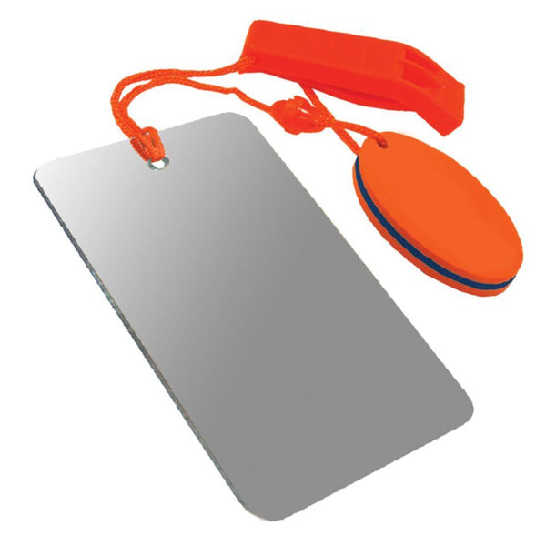U.S.T U.S.T. Hear-Me/Find-Me Combo Signaling Mirrors & Lights  Wylies Outdoor World wylies-outdoor-world.myshopify.com