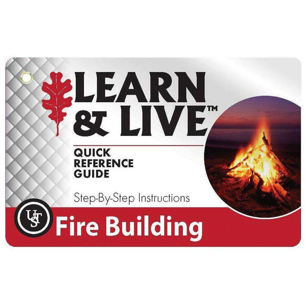 U.S.T., U.S.T. Survival Cards - Fire Building, Survival Items, Wylies Outdoor World,