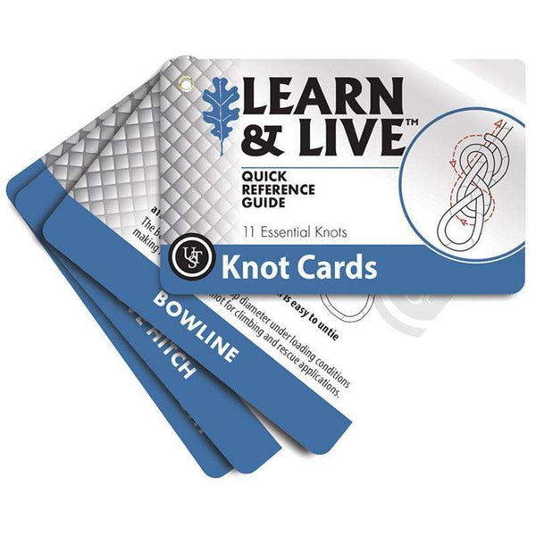 U.S.T., U.S.T. Survival Cards - Knots, Survival Items, Wylies Outdoor World,