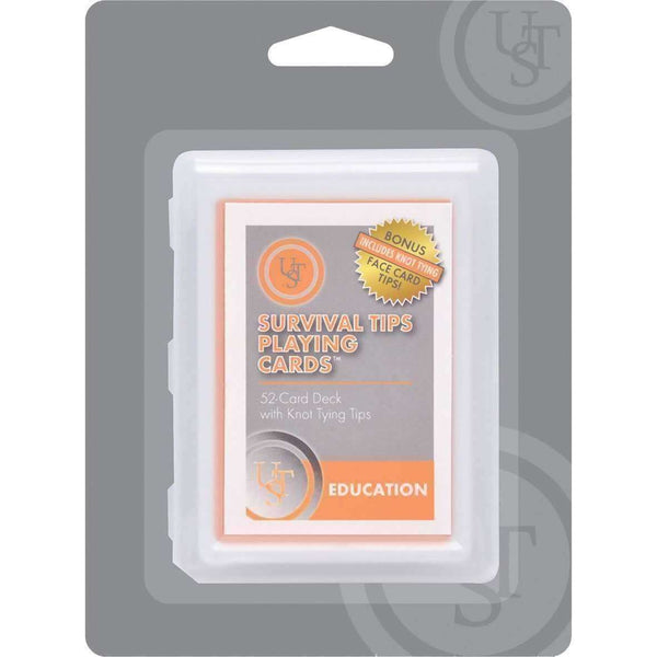 U.S.T., U.S.T. Survival Tips Playing Cards, Survival Items, Wylies Outdoor World,