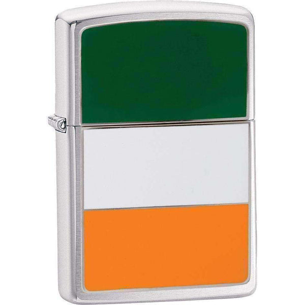 Zippo, Zippo Ireland Flag Lighter, Waterproof Matches & Lighters, Wylies Outdoor World,