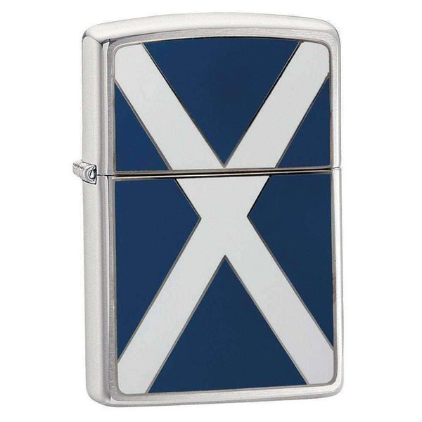 Zippo, Zippo Scotland Flag Lighter, Waterproof Matches & Lighters, Wylies Outdoor World,