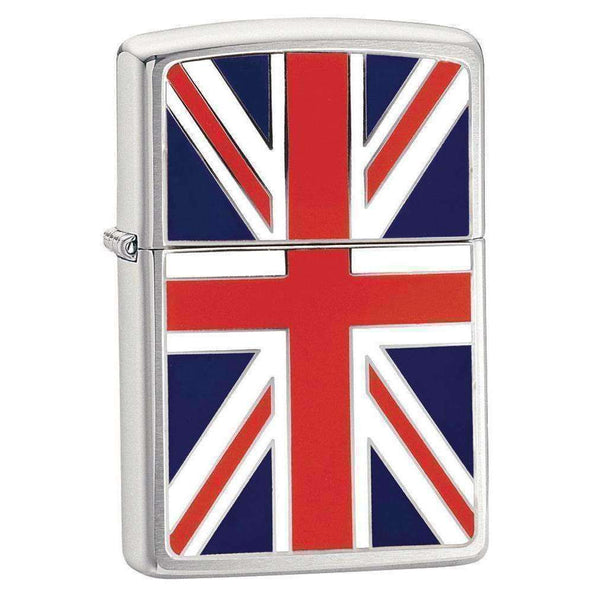 Zippo, Zippo Union Jack Flag Lighter, Waterproof Matches & Lighters, Wylies Outdoor World,