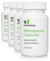 Wellsprings Menopause Capsules (4 Pack)
