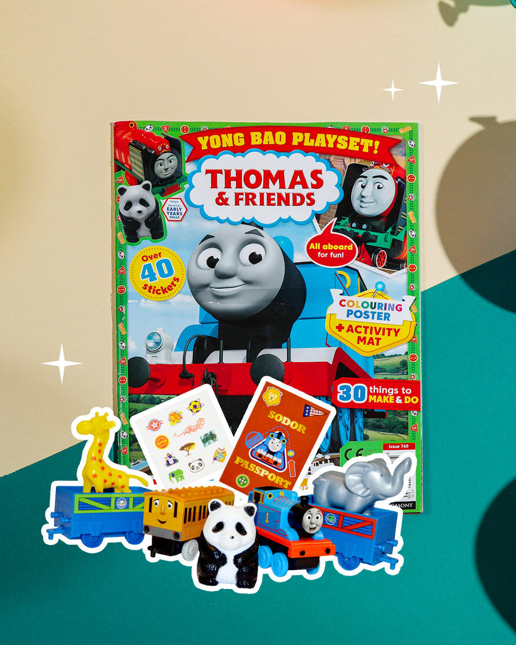 Thomas & Friends magazine and limited edition playset