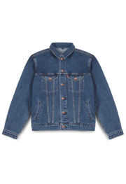 211 - Lea Basic Denim Jacket (Medium Indigo)
