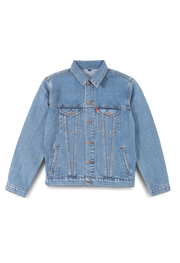 211 - Lea Basic Denim Jacket (Light Indigo)