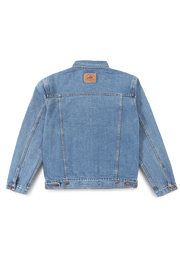 211 - Lea Basic Light Indigo Denim Jacket
