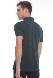 251 - Lea Basic Polo Shirt (Dark Green)