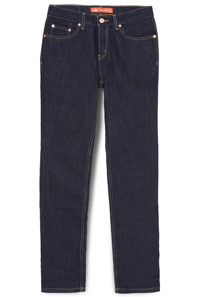 603.17.01.90.. LEA Jeans Orginal Slim Dark Indigo Garment Wash 12.75oz