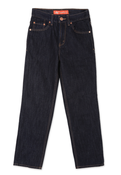 606 – LEA Orange Label  Dark Indigo 16 Regular-fit Denim 12,5oz