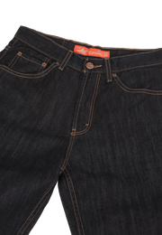 606 – LEA Orange Label  Dark Indigo 24 Regular-fit Denim 12,5oz
