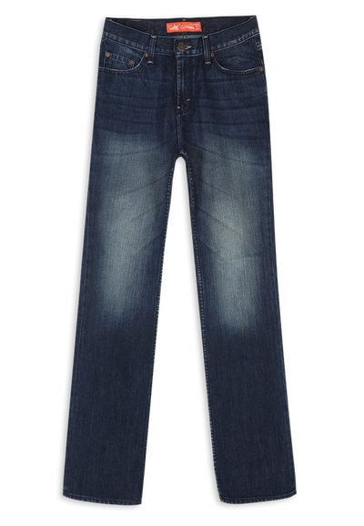607 - Orangelabel Bootcut Medium Indigo Garment Sprayed 12,75oz