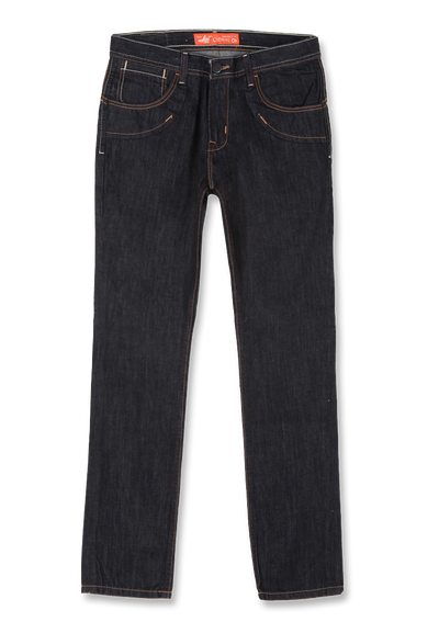 663 – LEA Orange Label  Dark Indigo 24 Original Slim-fit Denim 12,5oz