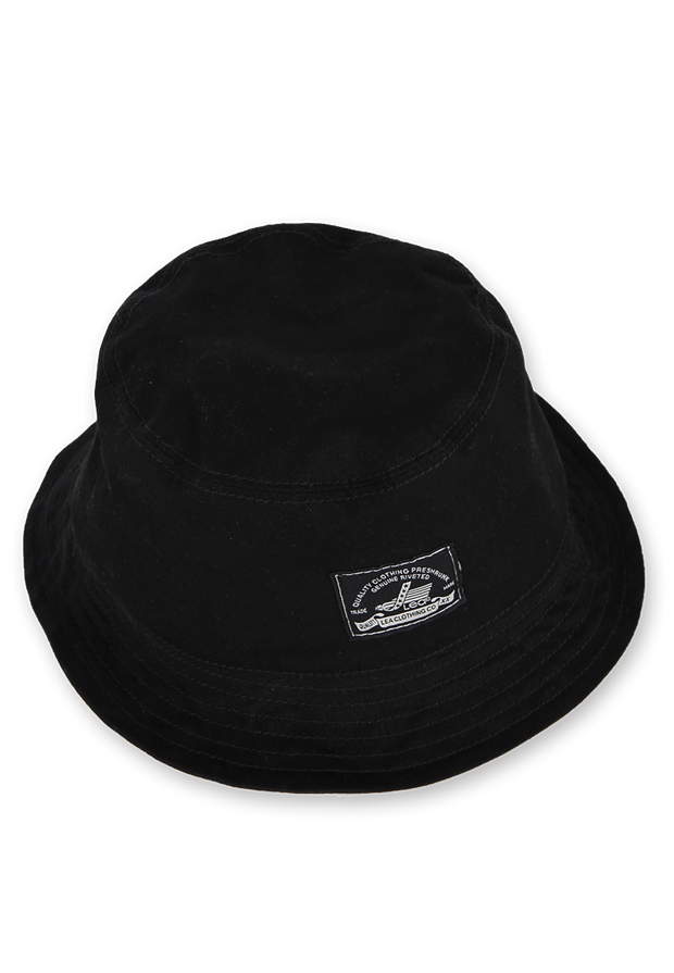 706 - LEA Bucket Hat Black